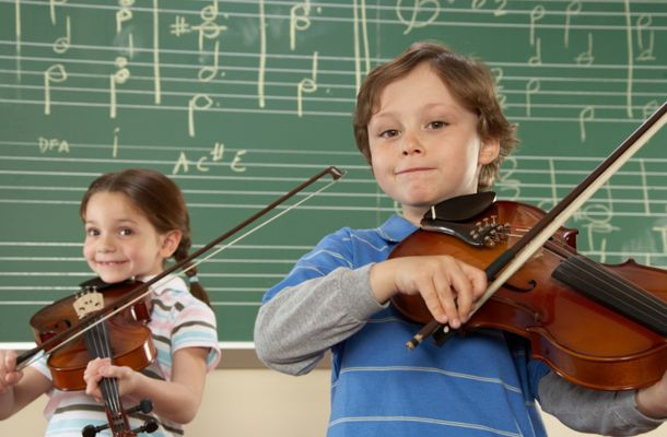 Music school; Home; Brossard- Violins